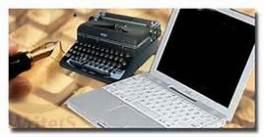 typewriter:laptop