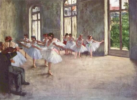 degas dance lesson 2